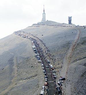 l ascension du mont ventoux